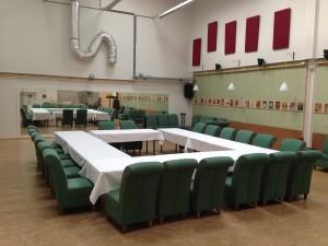 Vergadering of diner
