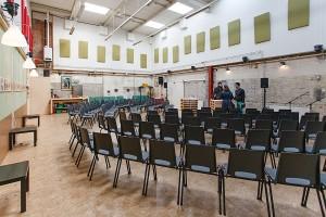 dedanswerkplaats 90 stoelen